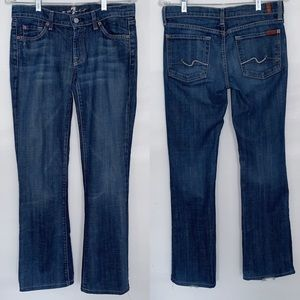 7 For All Mankind Bootcut Jeans Medium Rinse